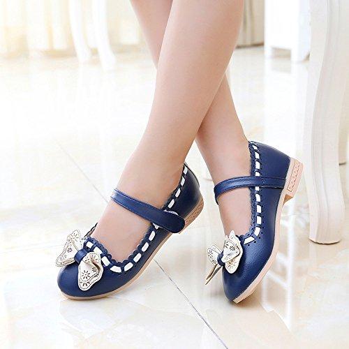 Scarpe per bambini, Longra Scarpe da sposa delle ragazze dell'arco delle ragazze Blu