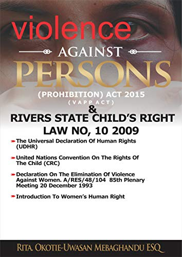 The Violence Against Persons (Prohibition) Act, 2015 & Rivers ...