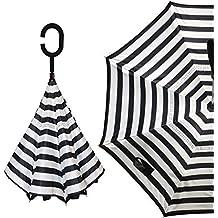 Paraguas invertido, Paraguas a Prueba de Viento, Paraguas inverso, Paraguas para Mujeres con