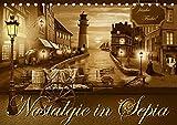 Nostalgie in Sepia (Tischkalender 2019 DIN A5 quer): Nostalgie und Kult aus den 50er, 60er und 70er Jahren in sanften Sepiabraun (Monatskalender, 14 Seiten ) (CALVENDO Kunst)