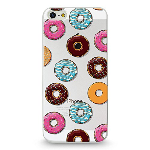 Handyhülle für Apple iPhone 7 ( Anker pink ) - Hülle - Schutzhülle mit Motiv - TPU Silikon Hülle - Case - Cover - Schale - Backcover - Handytasche Donut