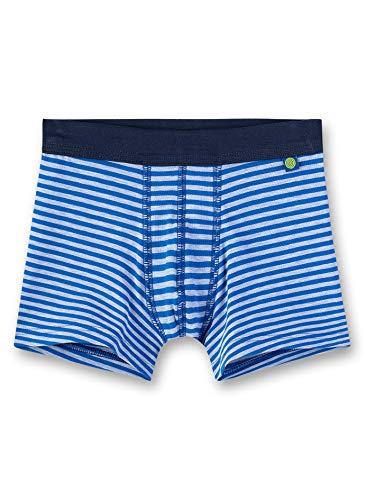 Sanetta Jungen Shorts, Blau (River Blue 50047), (Herstellergröße: 104)