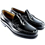 G.H. Bass Mens Larson Slip On Smart Penny Loafer Flat Leather Shoes UK Size 7-13