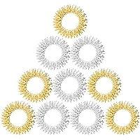 10 x Akupressur Massageringe in gold und silber groß preisvergleich bei billige-tabletten.eu