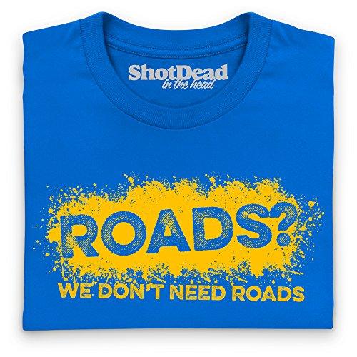 LRO Roads T-Shirt, Herren Royalblau
