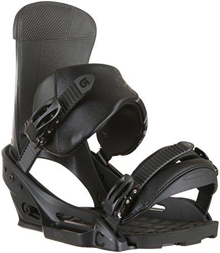 Burton Herren Custom Snowboardbindung, Black Matte, S | 09009520724060