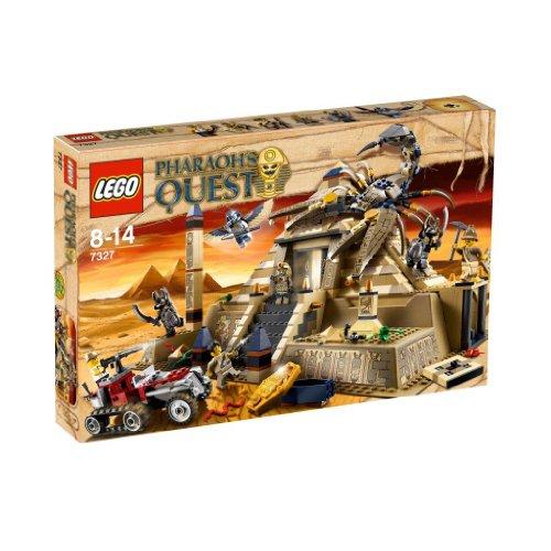 LEGO Pharaoh's Quest - 7327 - Jeu de Construction - La Pyramide du Scorpion