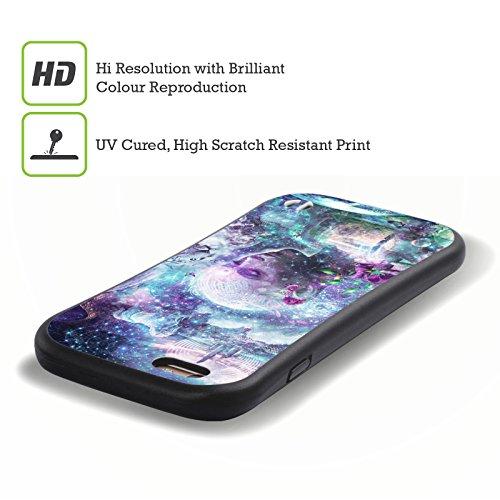 Ufficiale Cameron Gray Spalle E Giganti Creazione Case Ibrida per Apple iPhone 6 Plus / 6s Plus Alla Scoperta Del Cosmico