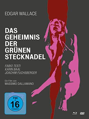 Edgar Wallace - Das Geheimnis der grünen Stecknadel - Mediabook [Blu-ray]