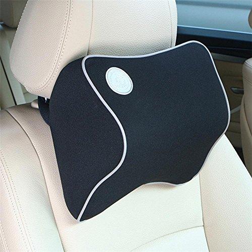 Ufficio auto applicabile per quattro stagioni memoria poggiatesta cuscino supporto collo color facoltativo , black
