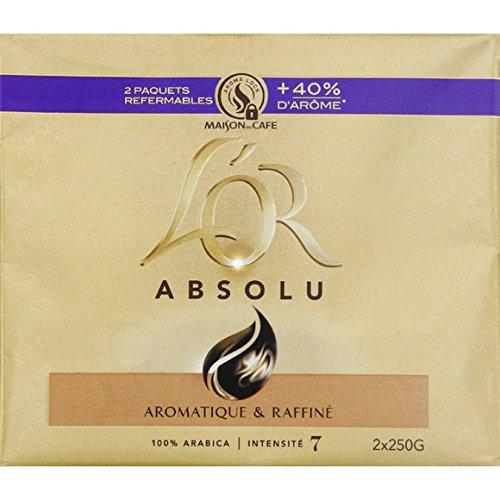 l'or Café moulu pur arabica, procédé spécifique - ( Prix Unitaire ) - Envoi Rapide Et Soignée