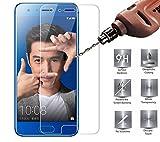 honneur 9Lite protection d'écran, D & N® honneur 9Lite protection d'écran en verre trempé, [HD clair] facile à installer protection d'écran pour Huawei honneur 9Lite [Compatible avec honneur 9Lite Coque]