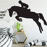 HNXDP Creative Cheval Animal Sticker Mural Salon Chambre Décorations pour La Maison...