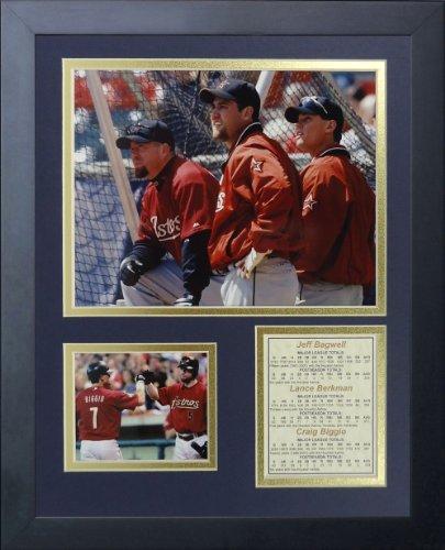 Legenden Sterben Nie Houston Astros Killer B 's gerahmtes Foto Collage, 11x 35,6cm