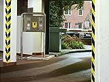TESA Signal- Markierungs- und Warnband gelb/schwarz 58133, 50mm x 66 Meter