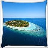 Abstrakt Insel Home Decor Werfen Sofa Auto Kissenbezug Kissen Fall 50,8x 50,8cm