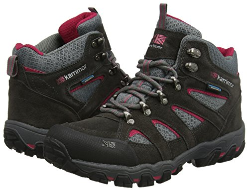 Bodmin Mid 5 Ladies weathertite Dark Grey/Cochineal,6 UK (39 EU)