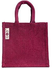 H&B Beautiful, Trendy & Stylish Jute Handbag/ Quality Lunch Bag/ Gift Bag, Love Bag For Valentine Gift,Handbag...