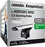 Rameder Komplettsatz, Dachträger WingBar EVO für Mercedes-Benz CLA Shooting Brake (114723-13518-2)