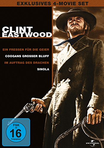 Clint Eastwood Collection – 4-Movie-Set [4 DVDs]