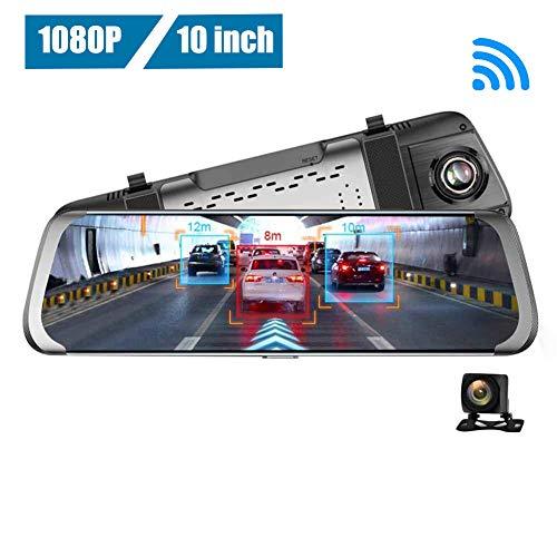 AnySell JUNSUN A930 10 Zoll 4G WiFi Android Auto Rückfahrkamera ADAS GPS Dash Cam