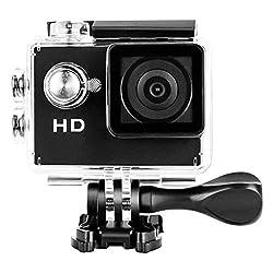 """Yuntab Full HD 720p (Kann auf 1080p aktualisiert werden) kamera Action Kamera Wasserdicht 2.0"""" LCD 120° Objektiv DVR Outdoor Action Camera Sport Kamera Tauchen Schwarz und Kostenlosen Zubehör Kits (Schwarz, A9)"""