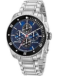 Sector Herren - Armbanduhr 350 Chronograph Quarz Edelstahl R3273903006