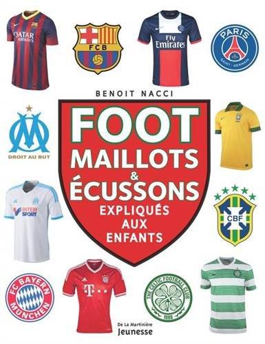 Foot : Maillots & écussons expliqués aux enfants