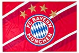 FC Bayern München Fahne Stripes 150 x 100 cm