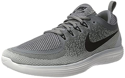 Nike Herren Free Rn Distance 2 Laufschuhe, Schwarz (Cool Grey/Black Wolf Grey-Stealth), 45.5 EU