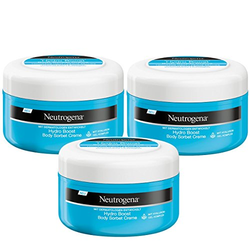 Neutrogena Hydro Boost Body Sorbet Gel, 3er Pack (3 x 200 ml)