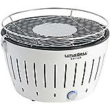 LotusGrill G-WE-34 - Barbacoa de carbón sin humo, color blanco