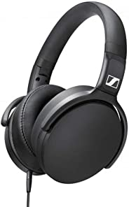 Sennheiser HD 400S Over-Ear Headphone With Smart Remote - Black (Pack of 1)