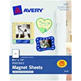 Avery Magnet Sheets, 8.5 x 11 inches, White (03270)