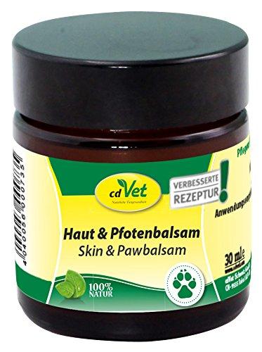 cdVet Naturprodukte Haut & Pfotenbalsam 30ml (Balsam Hund Pfote)