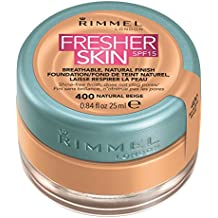 Rimmel London Fresher Skin SPF 15 Breathable Natural Finish Foundation – 400 Natural