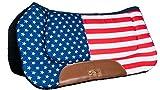 Hkm 4057052008658 Western Pad - Stars & Stripes-7905 Flag Usavollblut/Sang Chaud