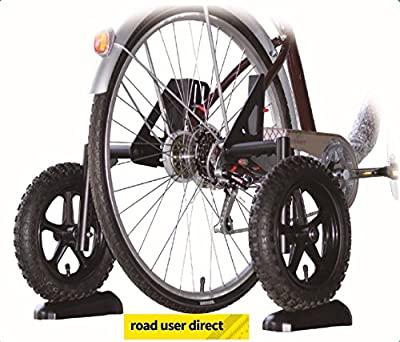 "Adult Bike Stabilisers / Training / Mobility Wheels Fit 20"" 24"" 26"" 27"" 28/700"" Wheels by Alpha Plus"