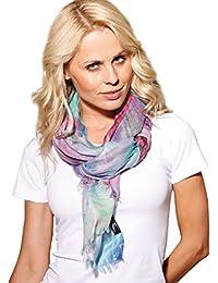 Damen Schal SOLERO blau/violett - Kashmir-Mischgewebe (CMO-001-06)<br />