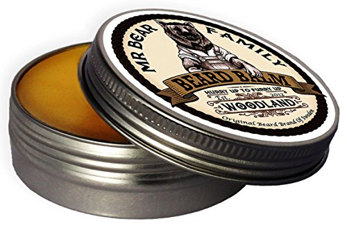 Mr. Bear Family Beard Balm Woodland, 60 ml