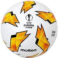 MOLTEN Replica de la UEFA Europa League – 1000 Modelo Oficial de Bola, Unisex Adulto, Color Naranja, tamaño Talla 3