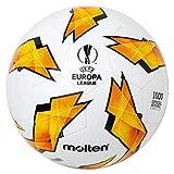 Molten Replica dell' UEFA Europa League–1000Modello Official Match Ball, Unisex, F5U1000-G18, Orange, Taglia 5