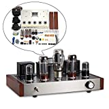 Nobsound 6N9P+EL34 Valve Tube Amplifier HiFi Stereo 2.0 Channel Single-Ended Class A Amplificatore Audio Amplificatore Kit DIY Kit 13W * 2