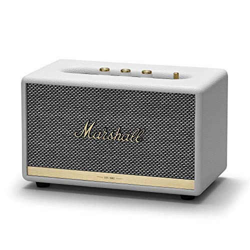 Marshall MRL1001901 Acton II Bluetooth Speaker - White