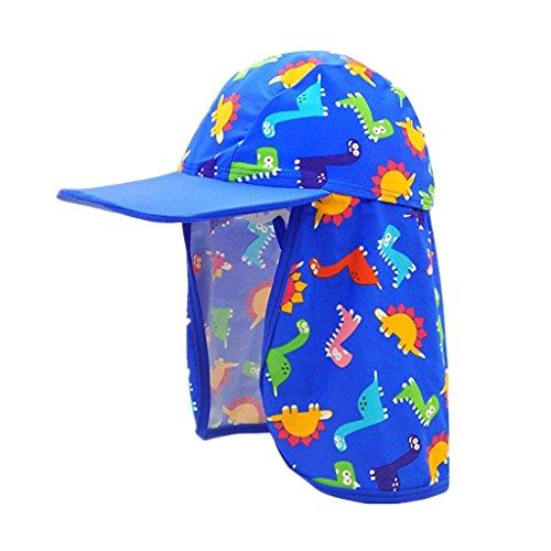 Niños Gorro de Baño Sombrero de Playa Niñas Gorro de Sol Infant Gorro Solar  UV Protección 3bf672719e8