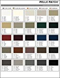 Pelle Patch - Guide des couleurs