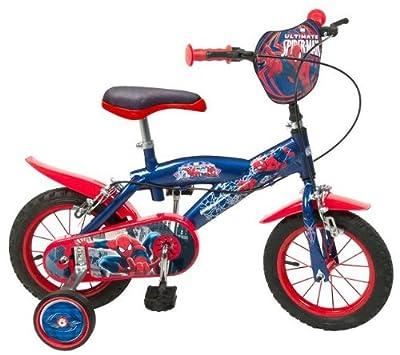 "12 12""Zoll Kinderfahrrad Kinder Disney Jungen Fahrrad Rad BMX Spiderman Bike ES"
