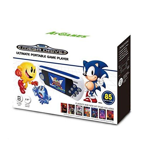 Console Retro Sega Megadrive Portable 85 jeux + Port SD - édition 2017-2018