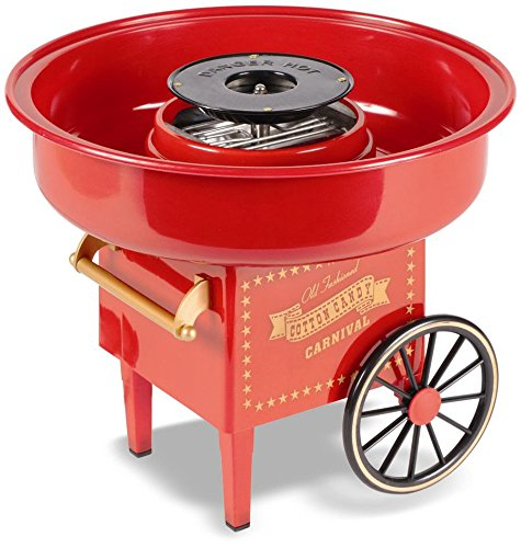 United Entertainment Cotton Candy Maker/Zuckerwattemaschine/Zuckerwatte Maschine - Kunststoff - Rot