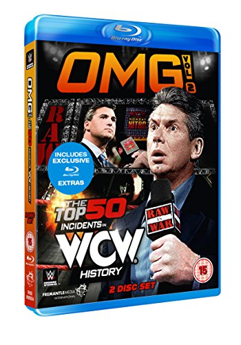 WWE: Omg! Volume 2 - The Top 50 Incidents In WCW History [Blu-ray] [UK Import]